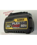 USED DEWALT CB606 20V/60V 6.0Ah Lithium-ion Battery Pack WORKS PERFECT 1... - $89.09