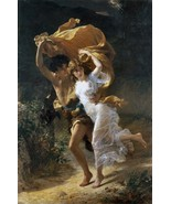 The Storm by Pierre-Auguste Cot 1880 French Old... - $19.78
