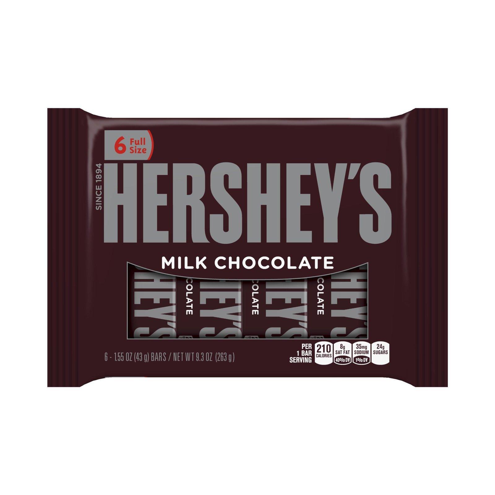 Hershey chocolate bar coupons