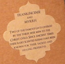 Biblical Scented Tealights Pack of 6 - Frankincense & Myrrh image 3