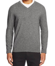 Bloomingdales Men's V Neck Cashmere Sweater Blue Haze Size XXL MyAFC - ₨5,138.92 INR