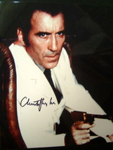 CHRISTOPHER LEE (SCARAMANGA) ORIGINAL AUTOGRAPHED PHOTO - $198.00