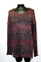 Sanctuary Sweater High Low Marled Pullover Mulberry Mink Size XL MyAFC - $26.63