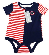 First Impressions Baby Boys Nautical French Cre Chinese Red Size 0-3M MyAFC - $9.99