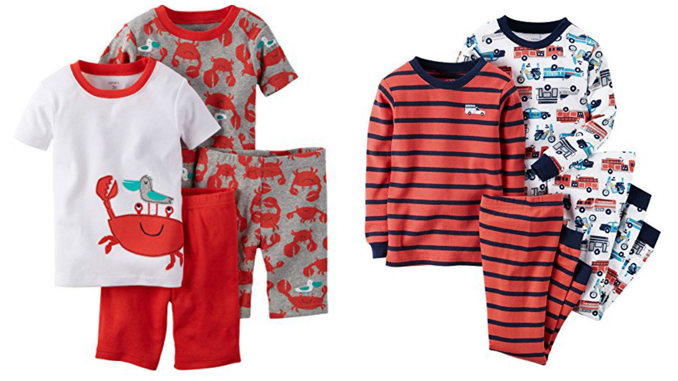 0f7377c40 Carters Baby Boys 4 Piece Stripes/Firetruck, and 26 similar items. S l1600