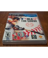 Baseball MLB 12: THE SHOW Sony PlayStation 3 PS3 VIDEO GAME 2012 COMPLETE - $14.85