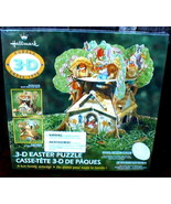 Hallmark 3-D Easter Treehouse Casse-tete Activity Puzzle Sealed 50+ - $14.00