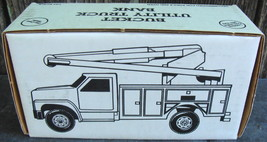 Die-cast 1:34 Scale Ford Bucket Utility Truck Bank Illinois Bell - $28.00