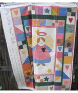 Fabric-Quilt ANGEL Little Quilt Fabric Panel - $12.99