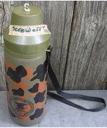 NRA Screw Top Camo Water Bottle Vintage - $12.99