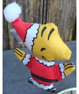 Peanuts Woodstock Cloth Christmas Ornament 1972 - $14.99