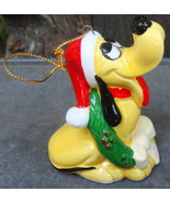 Pluto Christmas Ornament Walt Disney Productions Japan - $18.00