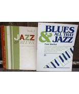 Blues and All That Jazz Songbooks Sheftel Kraehenbuehl Intermediate to A... - $12.99
