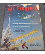 Air Progress Magazine 1954/55 Luftwaffe Guided Missles - $12.99