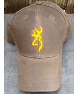Browning Canvas Hunters Vintage Cap Brown 100% Cotton - $24.00