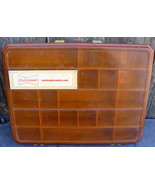 Budweiser Advertising Magnum Tackle Box Divided Compartment Container - $24.00
