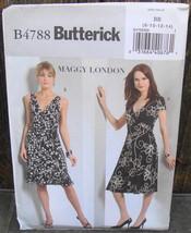 Butterick Pattern B4788 Maggy London Two Styles Women's Dresses - Size 8-14 - $18.00