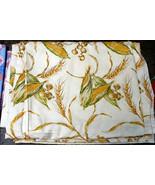Corn Cob, Wheat, Mushroom Cooking Gardening Novelty Fabric 1-2 Yds - $12.99