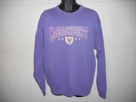 Vintage 90s Purple Massachusetts Lobster Sweatshirt XL - $22.99