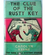 Dana Girls 11 The Clue of the Rusty Key 1st Edition 1st Print? Nancy Dre... - $75.00