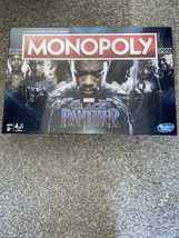 Monopoly Game: Black Panther Marvel Edition Board Game Hasbro - $185.39