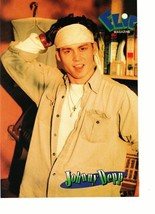 Johnny Depp Dino teen magazine pinup clipping white bananda cream shirt Wow