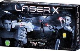 LASER X Two Player Laser Gaming Set Game Shooting Tag Play Lights Indoo... - $188.37