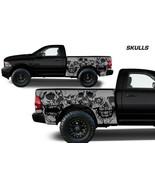 Vinyl Decal Skulls Wrap Kit for Dodge Ram 2009-18 1500/2500/3500 6.5 BED... - $98.95