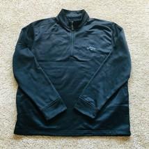 Callaway Golf Half Zip Black Pullover Jacket Mens Size XL - $24.74