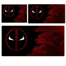 Deadpool 2 Deadpool Logo Pattern Extended Mouse Pad Computer Desk Pad Th... - €11,42 EUR+