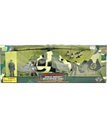 World Peacekeepers Power Team Elite Aerial Rocket Helicopter (ARH) 1:18 ... - $94.04