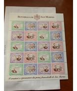 San Marino Bolli postali m/s 1997 mnh  stamps - $13.95