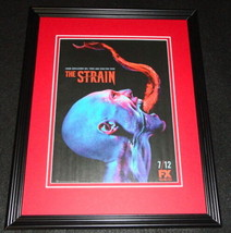 The Strain 2015 FX Framed 11x14 ORIGINAL Advertisement Guillermo del Toro  - $22.55