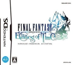 USED Nintendo DS Final Fantasy Crystal Chronicles Echoes of Time JAPAN i... - $79.68
