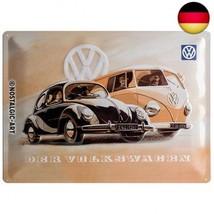 Nostalgic-Art 20377 Volkswagen - VW Beetle & Bulli, Blechschild 30x40 cm - $24.82