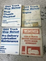 1985 Ford Truck F150 F250 F350 Pickup Bronco Repair Service Shop Manual ... - $69.25