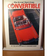 The Great American Convertible by The Auto Editors of Consumer Guide 199... - $17.99