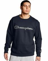 Champion Men's Powerblend Fleece Sweatshirt - Logo w/White Chainstitch -... - $39.99