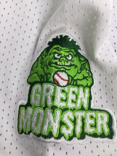 Cooperstown All Star Village Youth XL MLB White Jersey Red Sox Green Monster #5 image 4