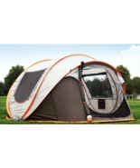 IPRee® Pop Up Tent for 5 Person Waterproof UV Resistance Family Camping ... - $199.99