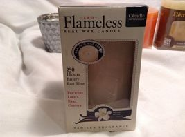 NEW Flameless Scented/Unscented Candle Set of 5 image 6