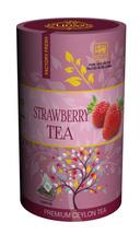 Lions Tea Strawberry, Pure Ceylon Black Tea 15 Pyramid Tea Bags - $8.75