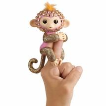 WowWee Fingerlings Monkeys - Fingerblings - Glimmer (Pink/Rose Gold) - Friendly - $29.99