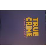 true crime trading card set - $59.99