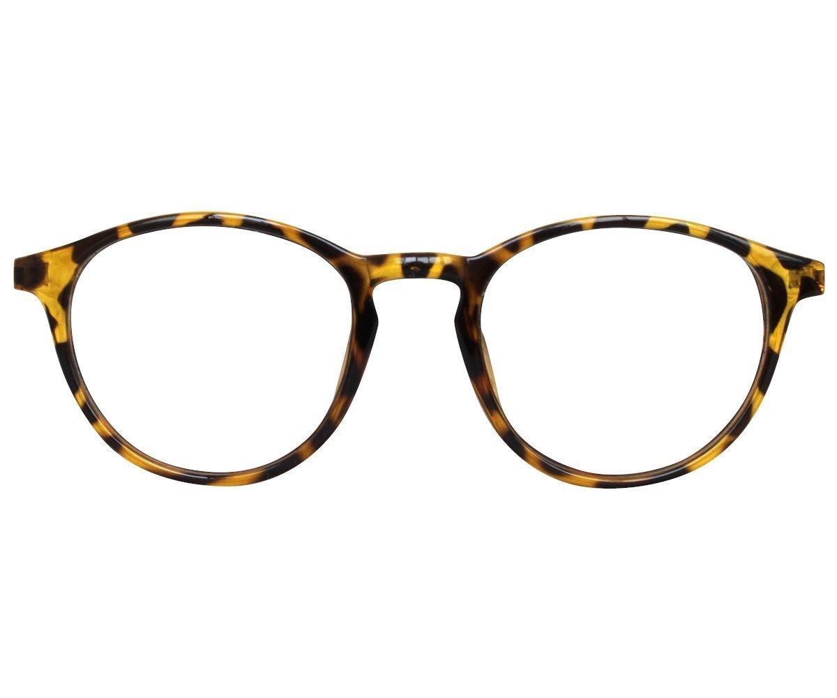 7dd2a98172c8 EBE Reading Glasses Womens Mens Tortoise Round Horned Rim Stylish Acetate