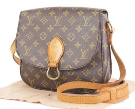 Authentic LOUIS VUITTON Saint Cloud GM Monogram Shoulder Bag #33234 - $459.00