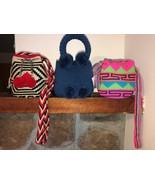 summer crossbody bags  Authentic 100% Wayuu Mochila Colombian Bag mini S... - $32.00+