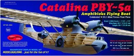 Guillow's Consolidated PBY Catalina Balsa Wood Model Airplane Kit  WWII ... - $166.31