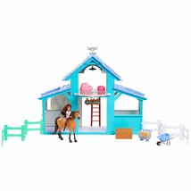 Just Play Spirit Barn Playset Lucky, Spirit, Barn and Accessories NEW - $75.00