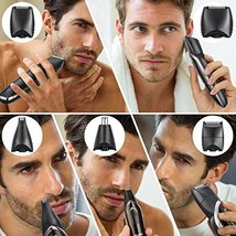 Veagins Beard Trimmer Grooming Kit for Men, Cordless Electric Hair Clipper Body  image 7